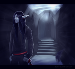 Moon Lit  Alley Way by Shadow-Crystol