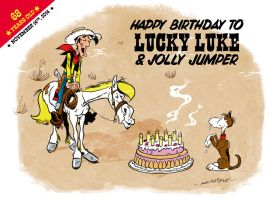 Happy Birthday Lucky Luke by Andy-Mornifle