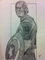 Captain America by linemaker