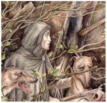 Tuor escapes the Easterlings by peet