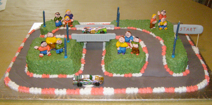 Race Track Birthday by Mar-a-thon