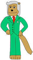 Looney-Earth Marty Mongoose by jacobyel