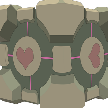 Weighted Companion Cube by gouranga1