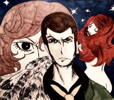Lupin the Third: The Woman Called Fujiko Mine by Flutterflute