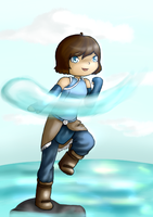 Avatar Korra by ForeverMuffin