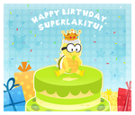 .:Birthday gift for SuperLakitu:. by CloTheMarioLover