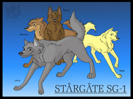 Stargate SG-K9 by LunarCheza