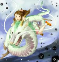 Spirited Away by Sbi96