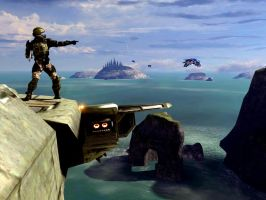 Halo 3 - Don't Look Down by Locke-357