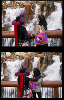 Frollo and Esmeralda at DCA by ChristineFrollophile