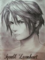 SQUALL LEONHART by ValkyrieLionheart