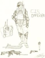 CIS officer by drewthefan123