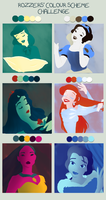 Disney colour meme by amylou2107