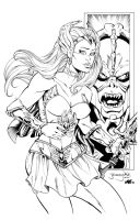 She-Ra by Inker-guy