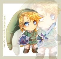 Chibi Link by SasoriScorpion