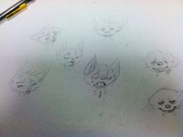 Many Emotions of Toshii by T0SHII