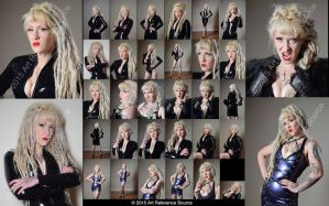 Stock:  Devlynn Dominatrix Fashion and Expressions by ArtReferenceSource