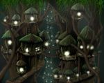Ewok Village by phexus