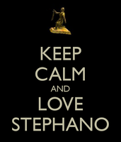 Keep Calm And Love Stephano by Wolf4821