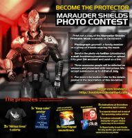 Marauder Shields Photo Contest [Contest Ended] by koobismo