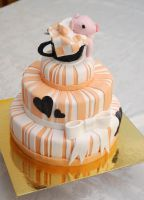 Teacup Pig Cake!!! by LamieG
