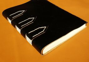 Black Leather Journal by GatzBcn
