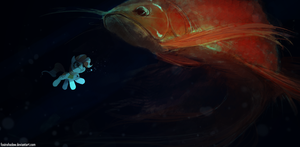 That Is One Large Fish by FoxInShadow