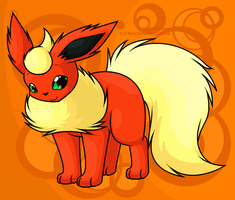 Flareon by FlareAKACuteFlareon