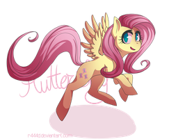 Pony Challenge: Fluttershy by magerine