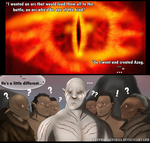 The Creation of Azog the Orc XD by Sapphiresenthiss
