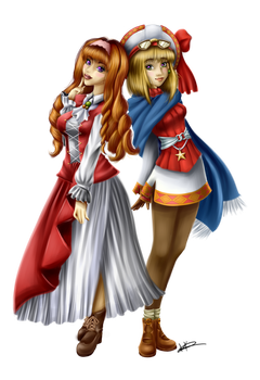 .:Point Commission:. Etoile Rosenqueen and Cornet by Kaspiian