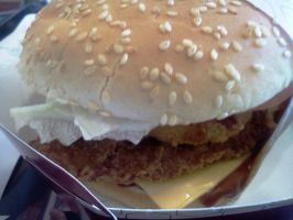 Outlaw Spicy Chicken Sandwich by BigMac1212