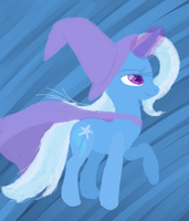 The Great and Acrylic Trixie by Tami-Kitten