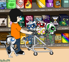 Shopping Trip by BlackBeast1998