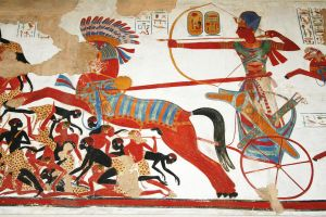 Egyptian Painting by Solrac1993