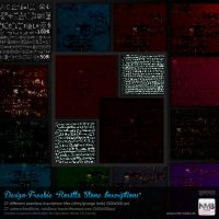 27 PS CS+ Rosetta Stone Inscriptions Pattern by Hexe78