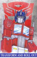 Optimus Prime by ChrisOzFulton