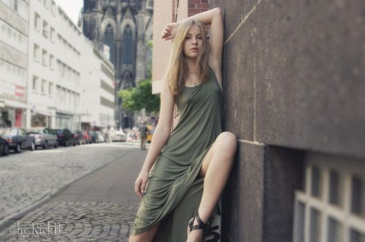 With Nastya in Cologne 07 by RickB500