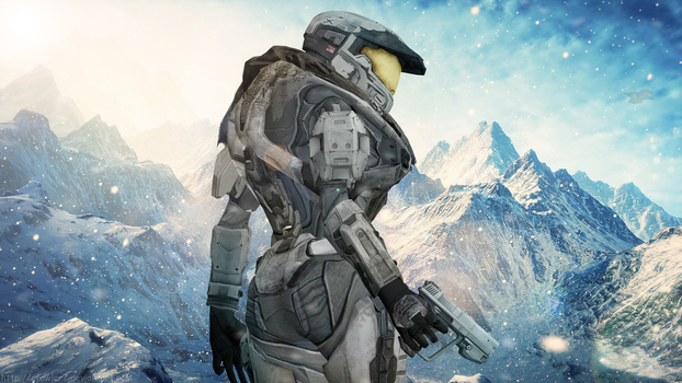Halo - In the Mountains by cfowler7