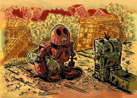 Robot post-apocaliptico by argentinor