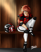 Runningback Hanna- Point Commission by R-Blackout