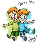 Andy and Ollie by Pencil-snap