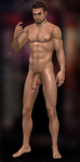 Resident Evil Revelations 2 - Neil Fisher nude by Killy-Stein
