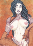 Roughed up ACEO by Anoki-Doll