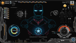 Shield-IronMan-Jarvis Rainmeter Theme (Screenshot) by Ferozkhanhamid