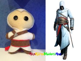 Assassin's Creed Plushes: Altair Ibn La'Ahad by AkaKiiroMidoriAoi