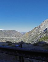 Tioga Pass Road by Synaptica