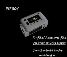 Pipboy DL::DL IS DOWN FOR REPAIRS:: by KaylaChan92