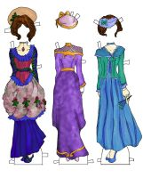 Betsy Jane dresses color by electricjesuscorpse