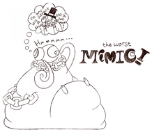 The Worst Mimic by Bunni89